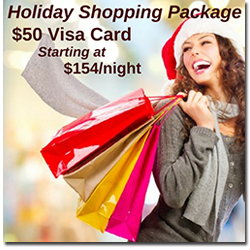 Myrtle Beach Holiday Shopping Package