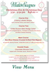 Christmas Eve & Christmas Day Dining