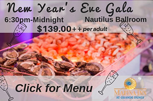 New Years Eve Gala in Myrtle Beach