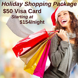Holiday Myrtle Beach Shopping Package