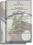 Reflections Happy Hour Menu