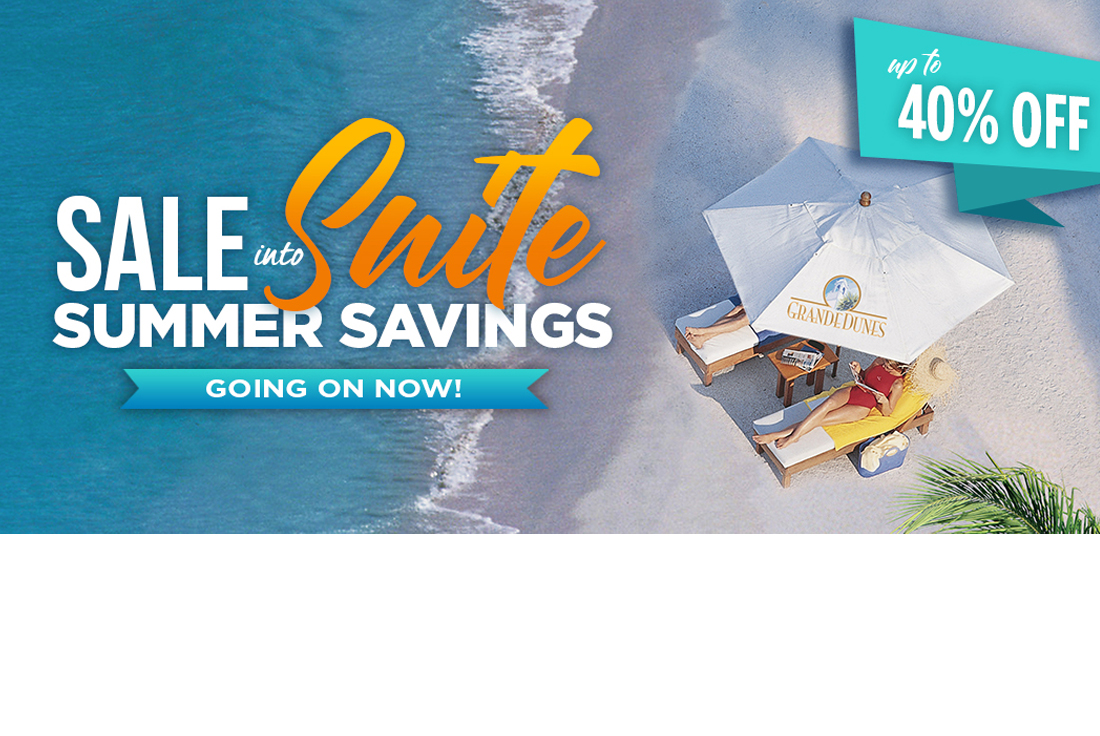 Sale Into Suite Summer Savings